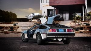 DeLorean mit Elektroantrieb (Bild: © DeLorean Motor Company)