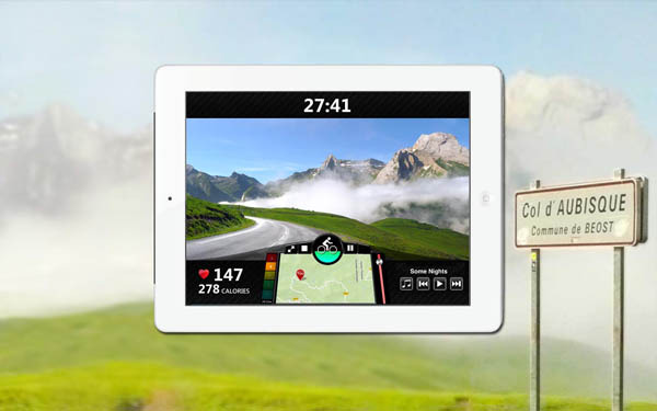 FitTrip Roadmovie App (Bild: Kickstarter/© Gusto Technologies, Inc)