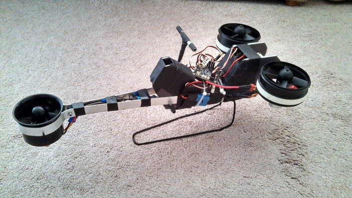 Low-Tech-Speeder Bike: das Hoverbike (Bild: Kickstarter/© Michael C. Poole)
