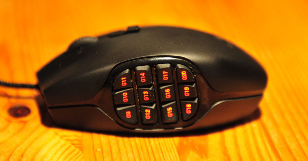 Logitech G600 MMO-Maus