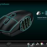 Homescreen der Konfigurationssoftware