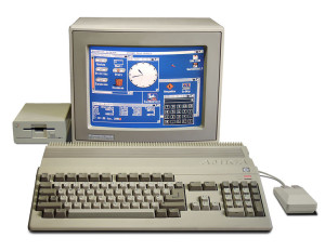 Der Amiga 500 (Bild: © Bill Bertram 2006)