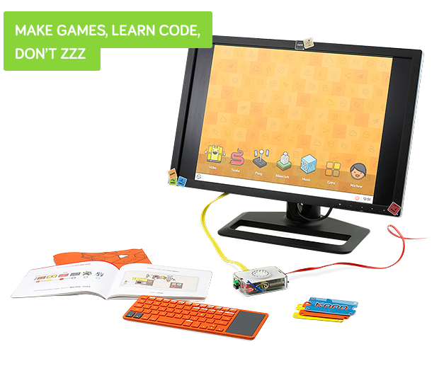 Das Kano Raspberry Pi Computer Lernsysten (Bild: kickstarter/ © Kano)
