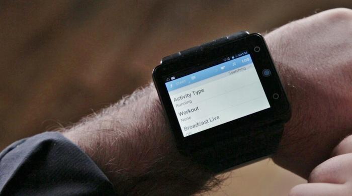 Nur für große Jungs - die Neptune Pine Smartwatch (Bild: kickstarter/ © Neptune)