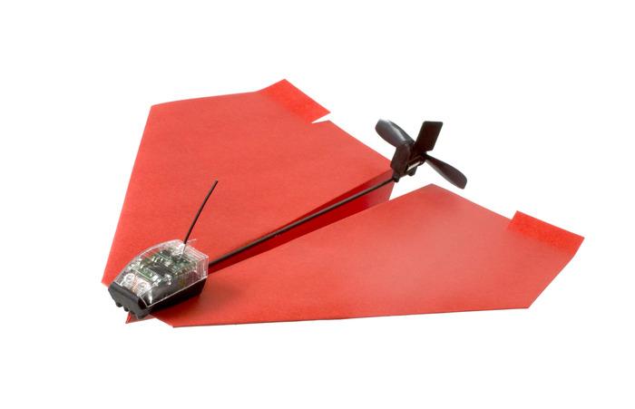 Papierflieger mit Hilfsmotor - PowerUp 3.0 (Bild: kickstarter/ © Shai Goitein)