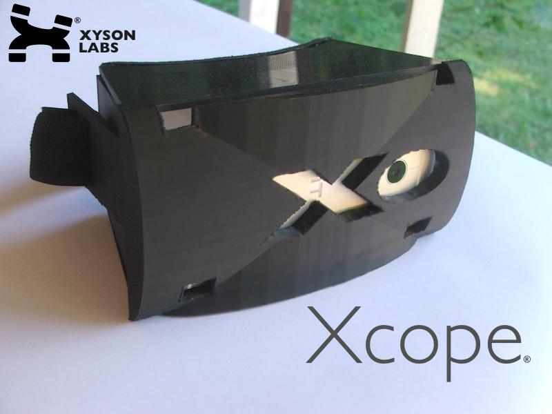 Xcope Smartphone-VR-Brille (Bild: Kickstarter/© Xyson Labs)