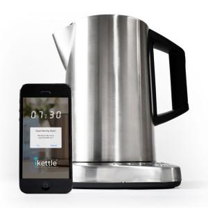 Wasserkoche mit Smartphoneanschluß - der iKettle (Bild: © Firebox.com)