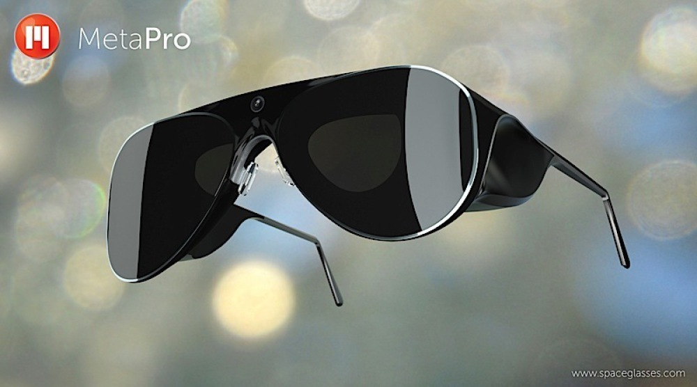 VR-Brillensystem META Pro (Bild: © meta)