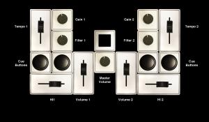 DJ-Konfiguration (Bild: kickstarter/ © Calvin Chu )