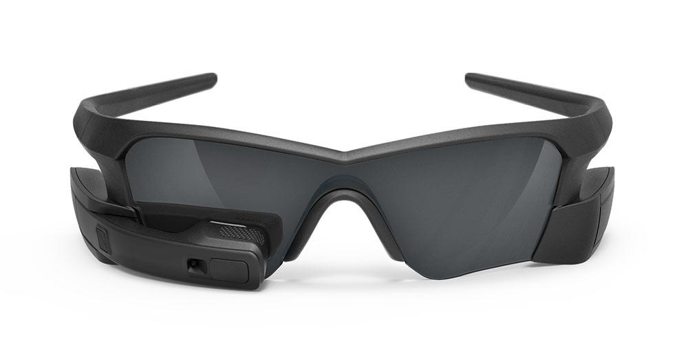 Datenbrille für Sportler - die Recon Jet. Sogar ganz ansehnlich. (Bild: ©Recon Instruments)