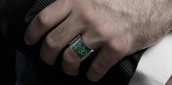 Nicht Smart-Watch sondern Smart Ring - der Smarty Ring (Bild: indiegogo/ © Smarty Ring)
