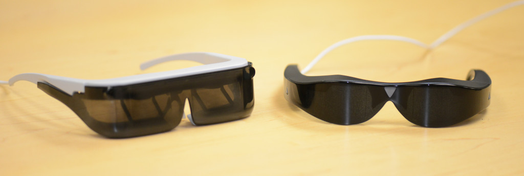 Atheer Dev-Kit und Atheer One Smart Glasses (Bild: indiegogo/© Atheer)