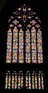 Das Gerhard Richter-Fenster im Kölner Dom  (Bild: © o. Thiele)