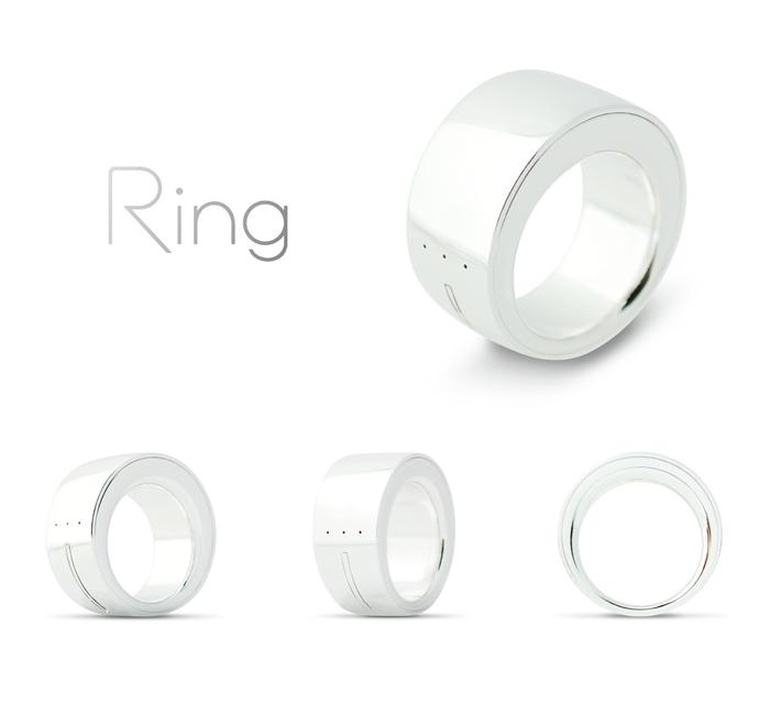 Der Ring - tolle Features, blöder Name (Bild: kickstarter/© Logbar inc.)