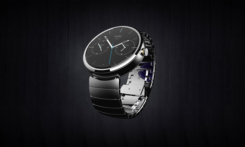 Smartwatch in schön - die Motorola Moto 360 mit Android Gear (Bild: © Motorola Mobility LLC)
