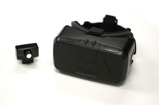 Die Oculus Rift DK2 VR-Brille (Bild: © Oculus VR)