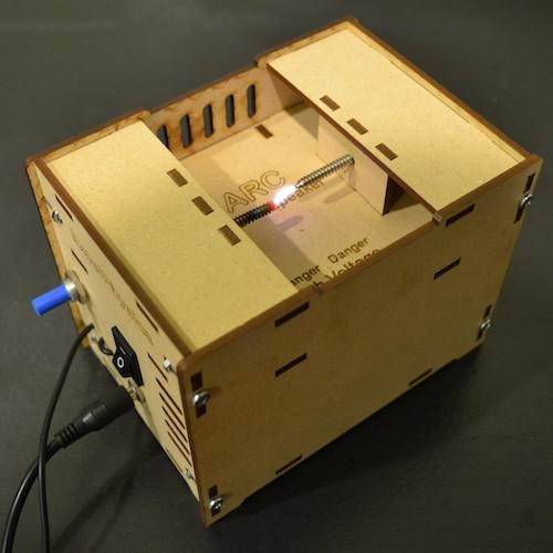 Musik mit Lichtbogen - The ARC Plasma Speaker (Bild: kickstarter/ExcelPhysics)