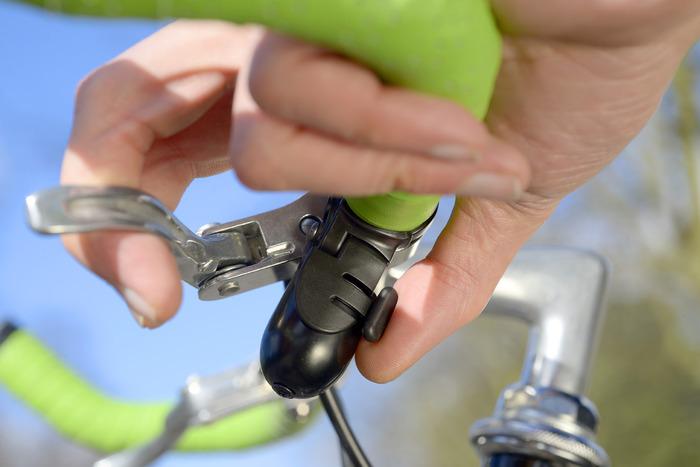 Clevere, kleine Klingel - die Trigger Bell (Bild: kickstarter / © Stefan Buxton)