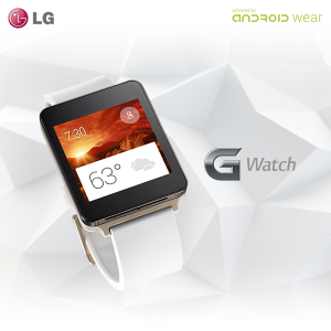 Chice Farbe - die LG G Watch in champagne gold (Bild: ©LG Electronics)