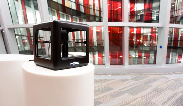 Geht weg wie geschnitten Brot - The Micro 3D-Drucker von M3D (Bild: kickstarter / © M3D LLC)