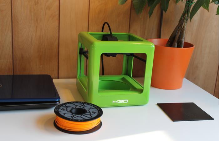 Kleine Drucker-Würfel – der M3D Micro 3D Printer (Bild: kickstarter / © M3D LLC)