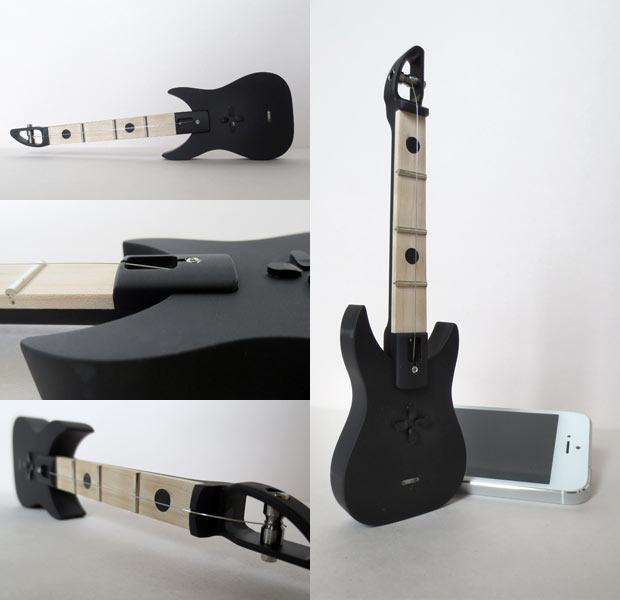 Eine Mini-Gitarre mit einer Saite - der FretPen von FretLabs (Bild: kickstarter/© FretLabs)
