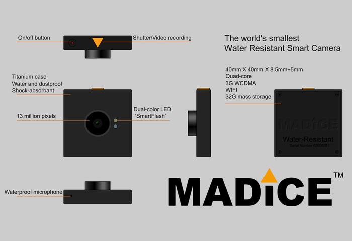 Das Kamera-Modul (Bild: indiegogo/ © MADICE, INC)