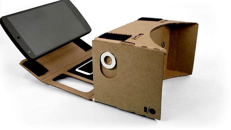 Google Cardboard - eine VR-Brille aus Pappe (Bild: © google)