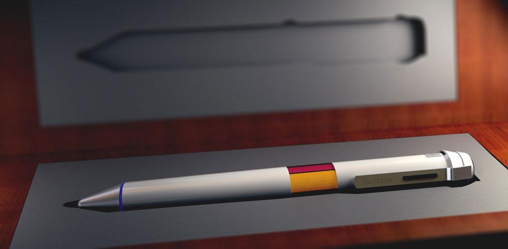 Da bekommt der Zeichner bunte Träume - Millionen Farben ineinem Stift mit Scribble (Bild: © Scribble)