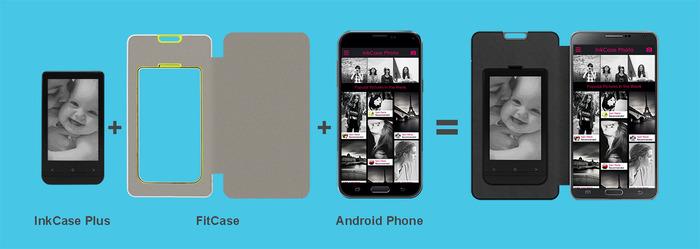Schöne Idee mit vielen Fragezeichen - ink Case Plus (Bild: kickstarter/©OAXIS INC.)