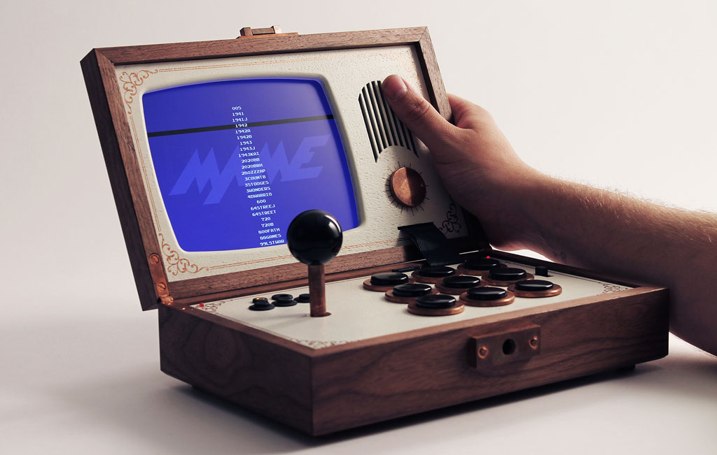 Spielen mit Stil - der R-Kaid-R Handelt-Konsolen-Emulator (Bild: ©Love Hultén )