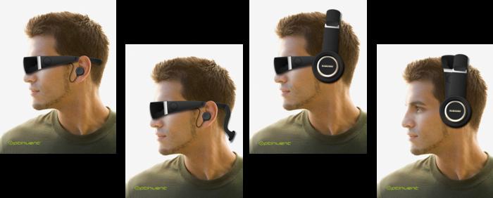 Endgültiges Design steht noch nicht fest - die Consumer-Version ORA-X (Bild: kickstarter/© Optinvent)