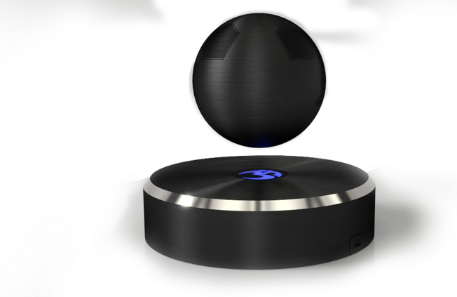 Abgehobenes Design - der fliegende Bluetoothlautsprecher OM/ONE (Bild: tilt.com/ © OM Audio)