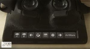 Clever, ein Teil des Displays liegt frei für Steuerungsbuttons... wenn die Software es unterstützt  (Bild: kickstarter/©Metatecture )