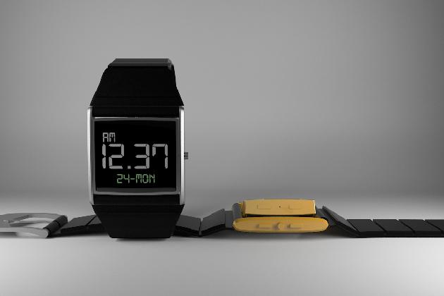 Zu schön, um wahr zu sein. Uhr mit LCD und eInk-Display (Bild: indiegogo/ © Oru watch)