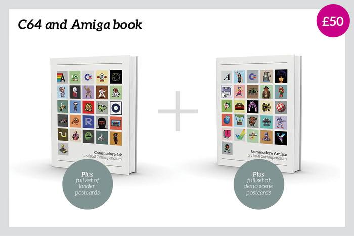 Amiga und C64 in Buchform (Bild: kickstarter/© Sam Dyer)