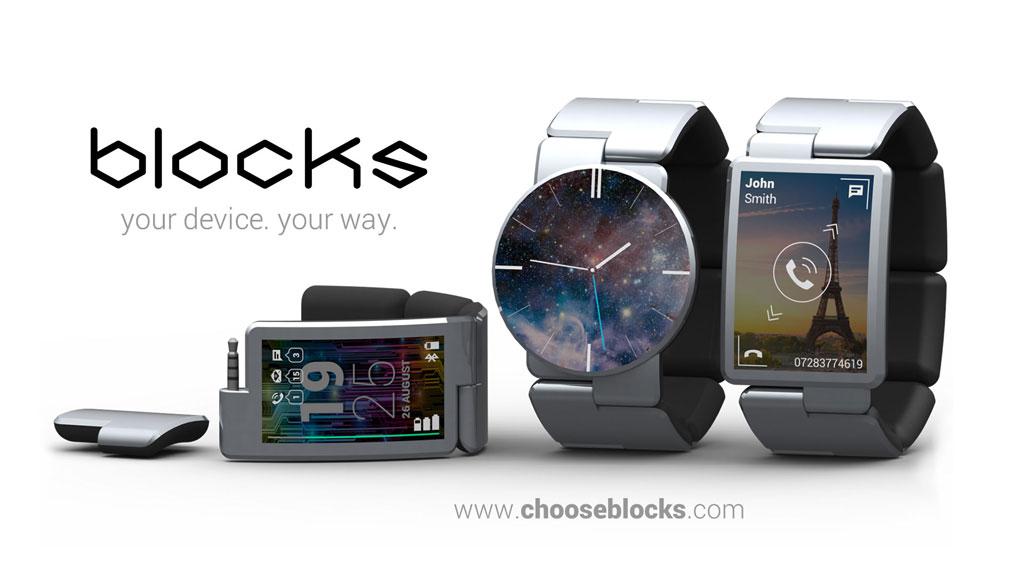 So langsam wird es auch was mit dem Design - Blocks Smartwatch (Bild: © Blocks)