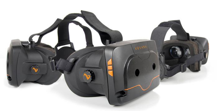 Interessanter Ansatz, aber vermutlich keine Chance gegen die Oculus Rift - die Totem VR-Brille (Bild: Kickstarter / © Vrvana Inc. )