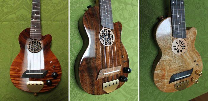 Ukulele? E-Gitarre? Verstärker? FX? Von allem etwas, die Ukelation (Bild: kickstarter/©Monty Ross )