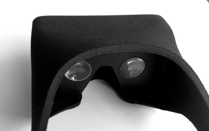 VR-Brille aus Neopren - die Viewbox (Bild: kickstarter/© Simon Josefsson)
