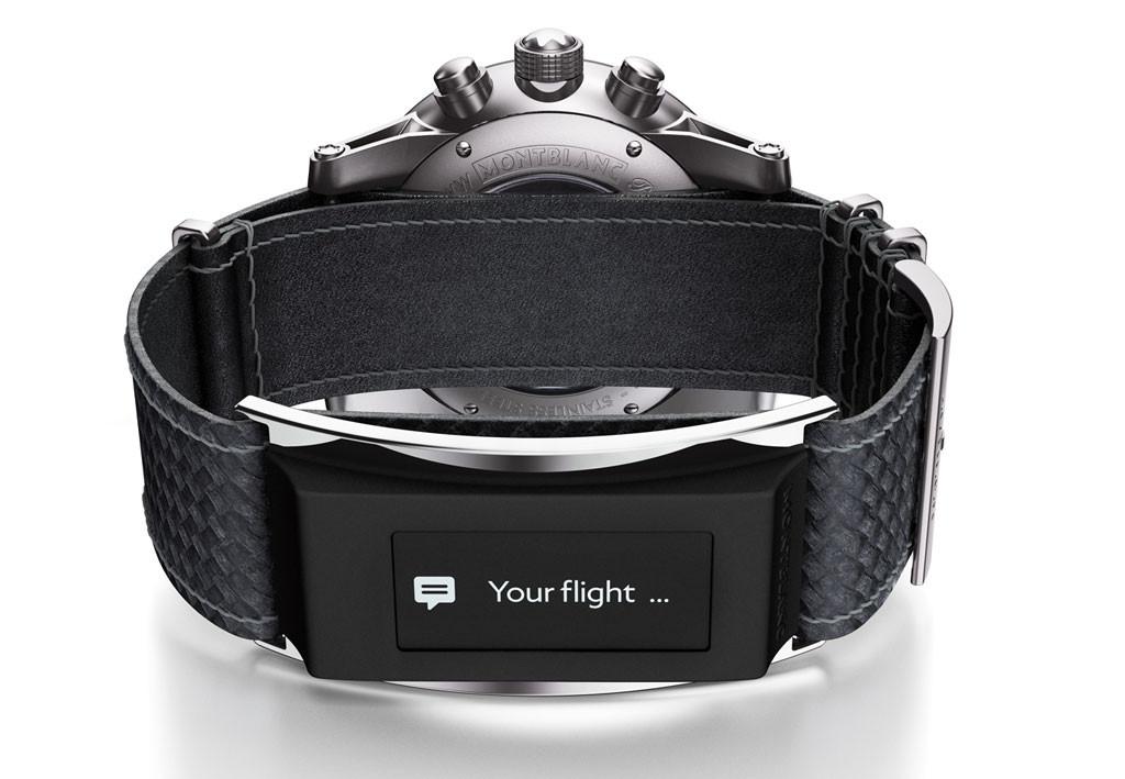 Die Smartwatch zum nachrüsten - Montblanc E-Strap (Bild: ©  Montblanc Deutschland GmbH)