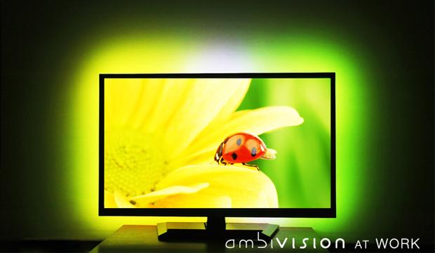 Ambilight zum nachrüsten - AmbiVision (Bild: indiegogo/©http://lab-team.com)