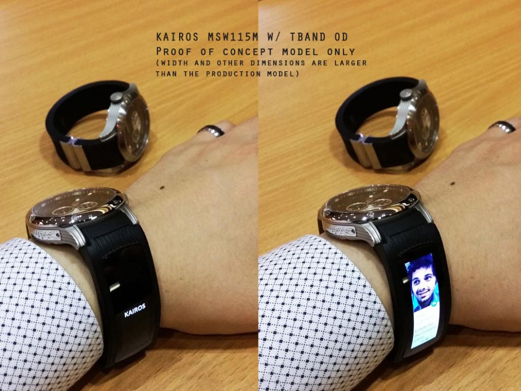 Das smarte Armband von Kairos - T-Band (Bild: © Kairoswatches)