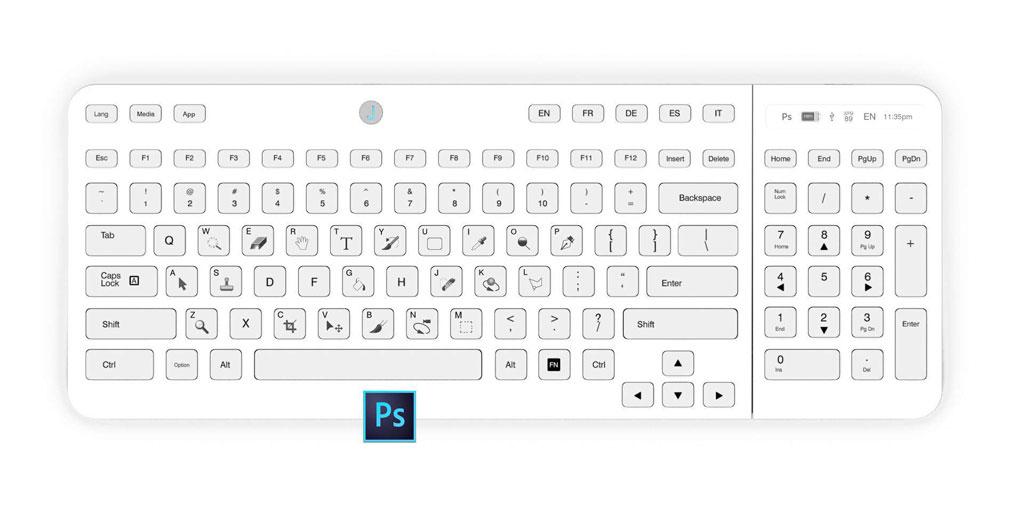Keyboard mit e-Ink-Tasten - Jaasta eInk-Tastatur (Bild: © jaasta)