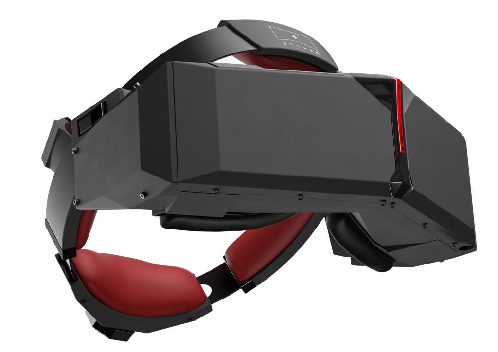 5K ist mal ne Ansage - die StarVR VR-Brille (Bild: ©  Starbreeze Studios )
