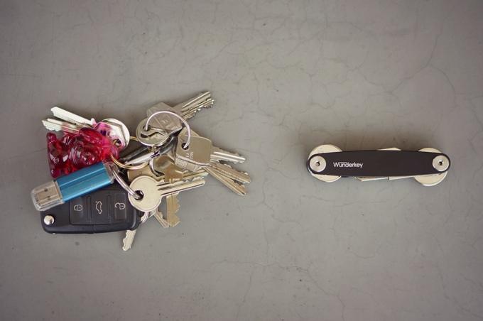 Schluss mit dem geklöter - Wunderkey Schlüsselhalter (Bild: kickstarter/ © Goodmonkey)