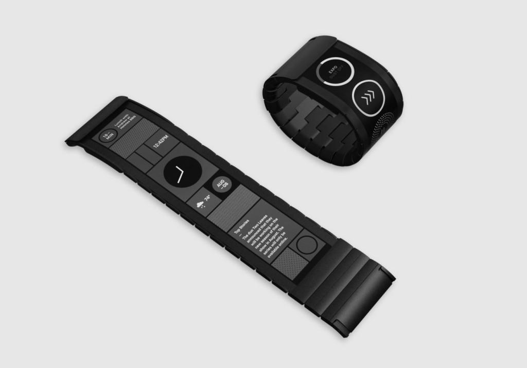 Smartes Armband - Wove-Band von Polyera (Bild: © Polyera Corporation)
