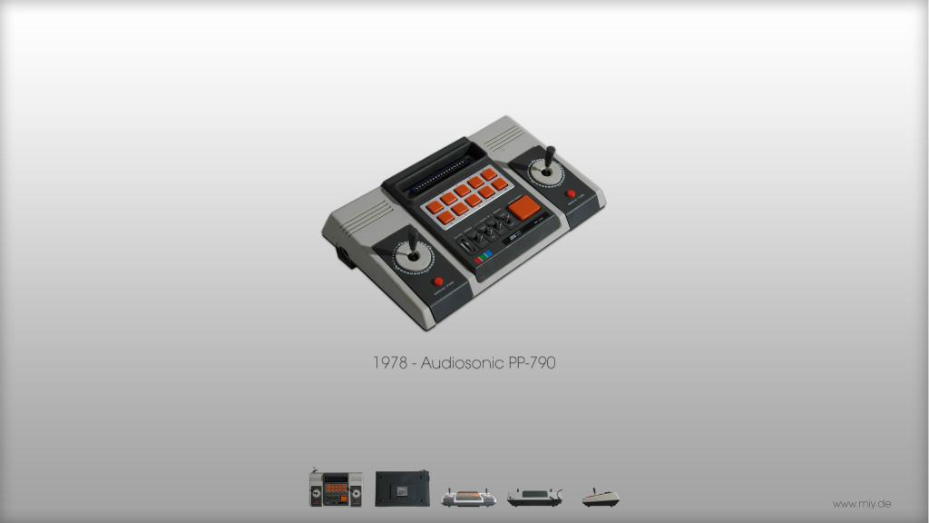 Audiosonic PP-790 von 1978. (Bild: © Oliver Thiele / miy.de)
