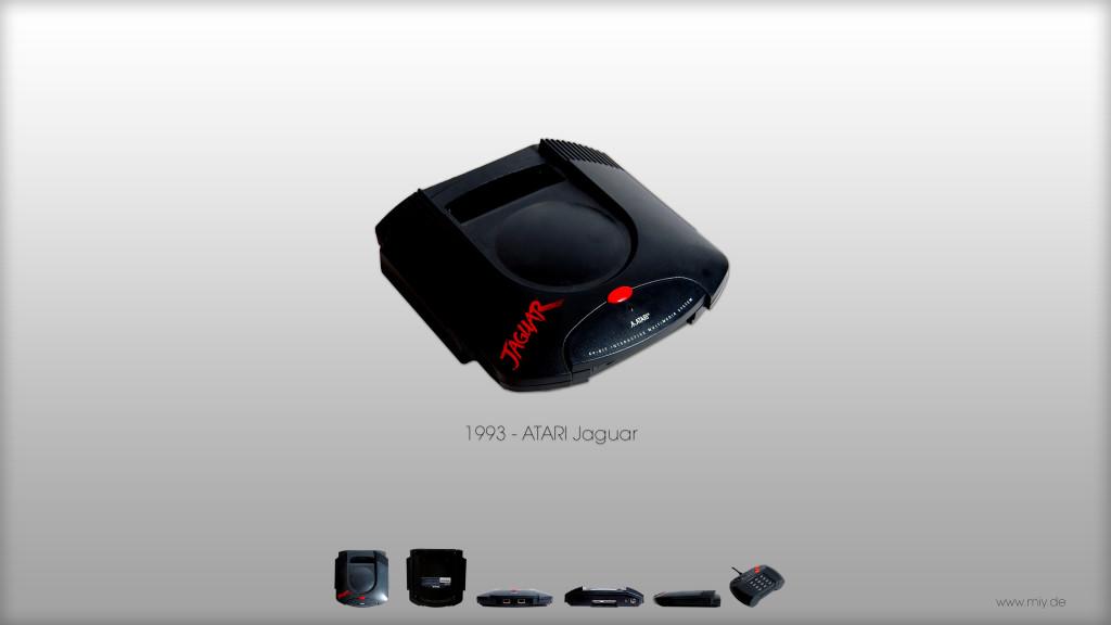 Teil meiner ehemaligen Konsolensammlung. Atari Jaguar von 1993/1994.   (Bild: © Oliver Thiele / miy.de)