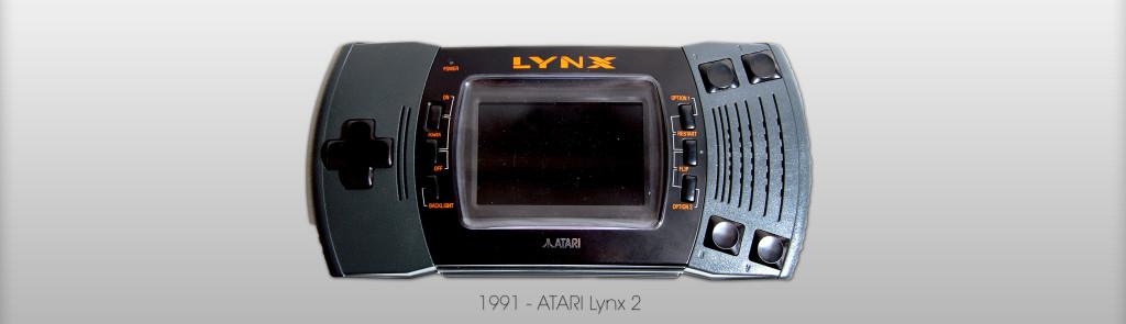 Atari LYNX II von 1991 (Bild: © Oliver Thiele / miy.de)